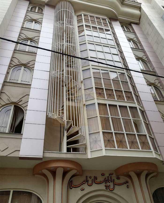 هتل آپارتمان اصیلا مشهد