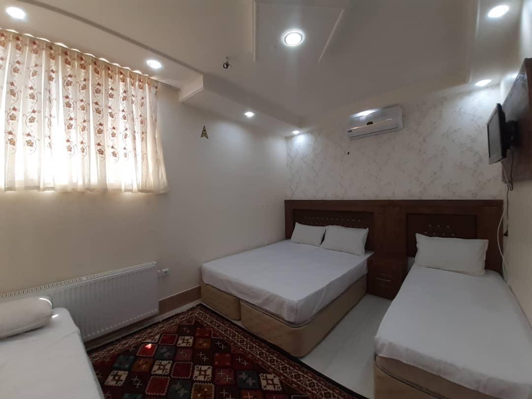 هتل آپارتمان خلف باغ یزد مشهد