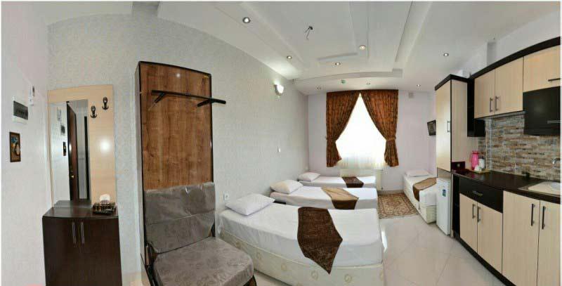 هتل آپارتمان راهیان نور هشتم مشهد