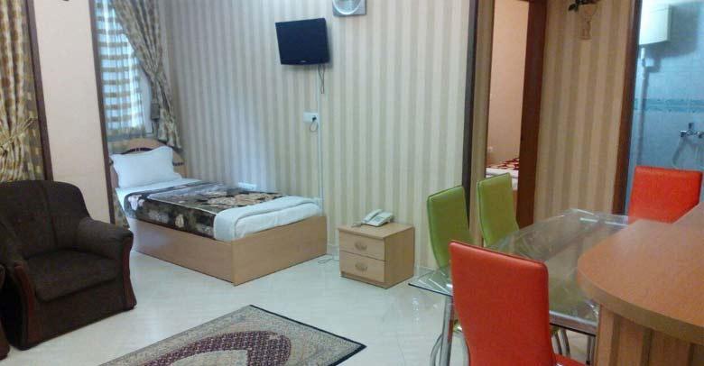 هتل آپارتمان صافات مشهد