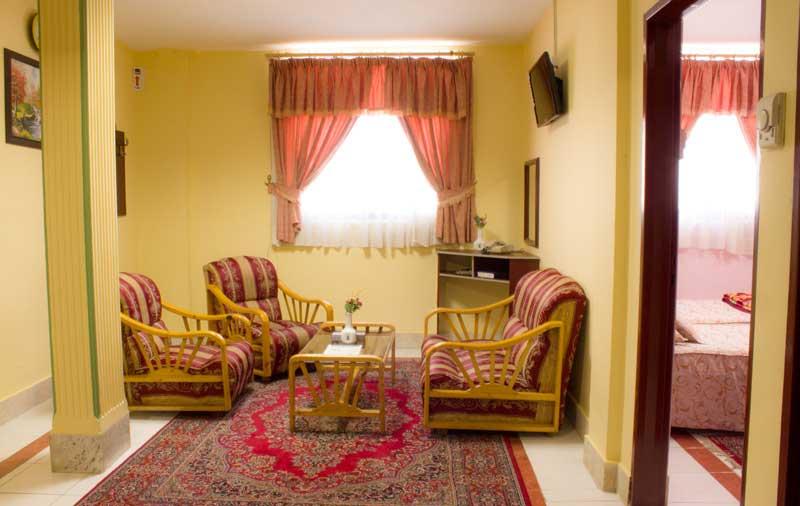 هتل آپارتمان شرق زیست مشهد